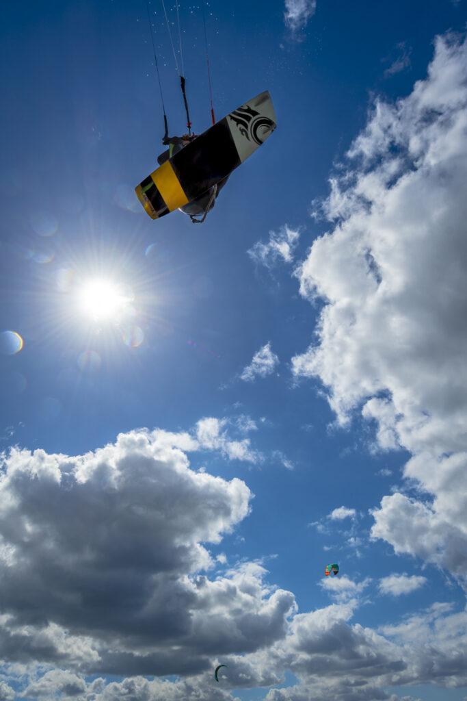 cabrinha kitesurfer