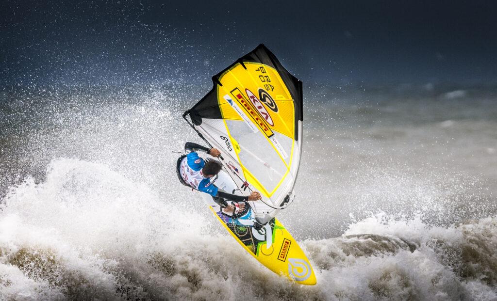 Marcilio Brazil windsurfing