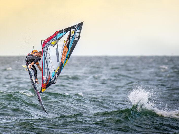Ricardo windsurfing