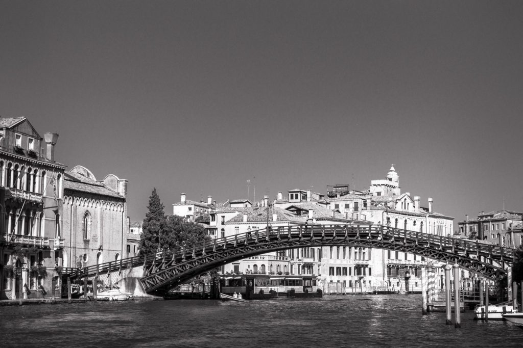 Venice Accademia bridge
