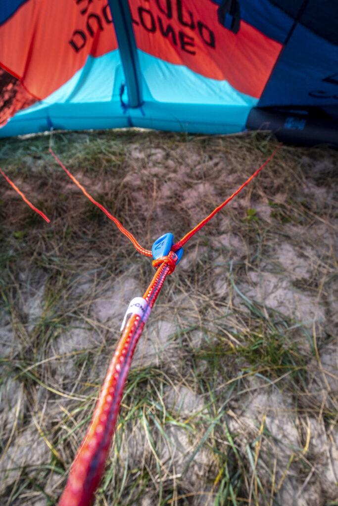 Kitesurf knot