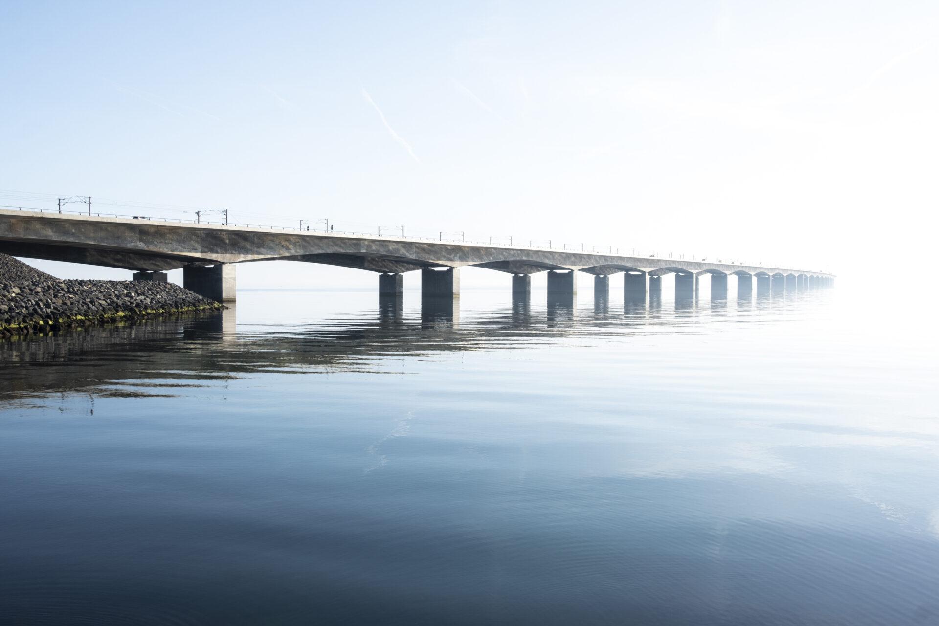 Biggest bridge in Denmark
