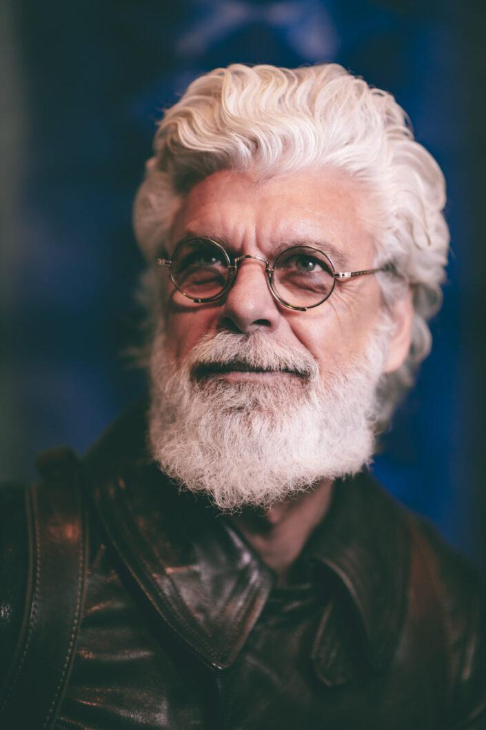 Iconic Male Portrait - The Blue Blooded Portfolio