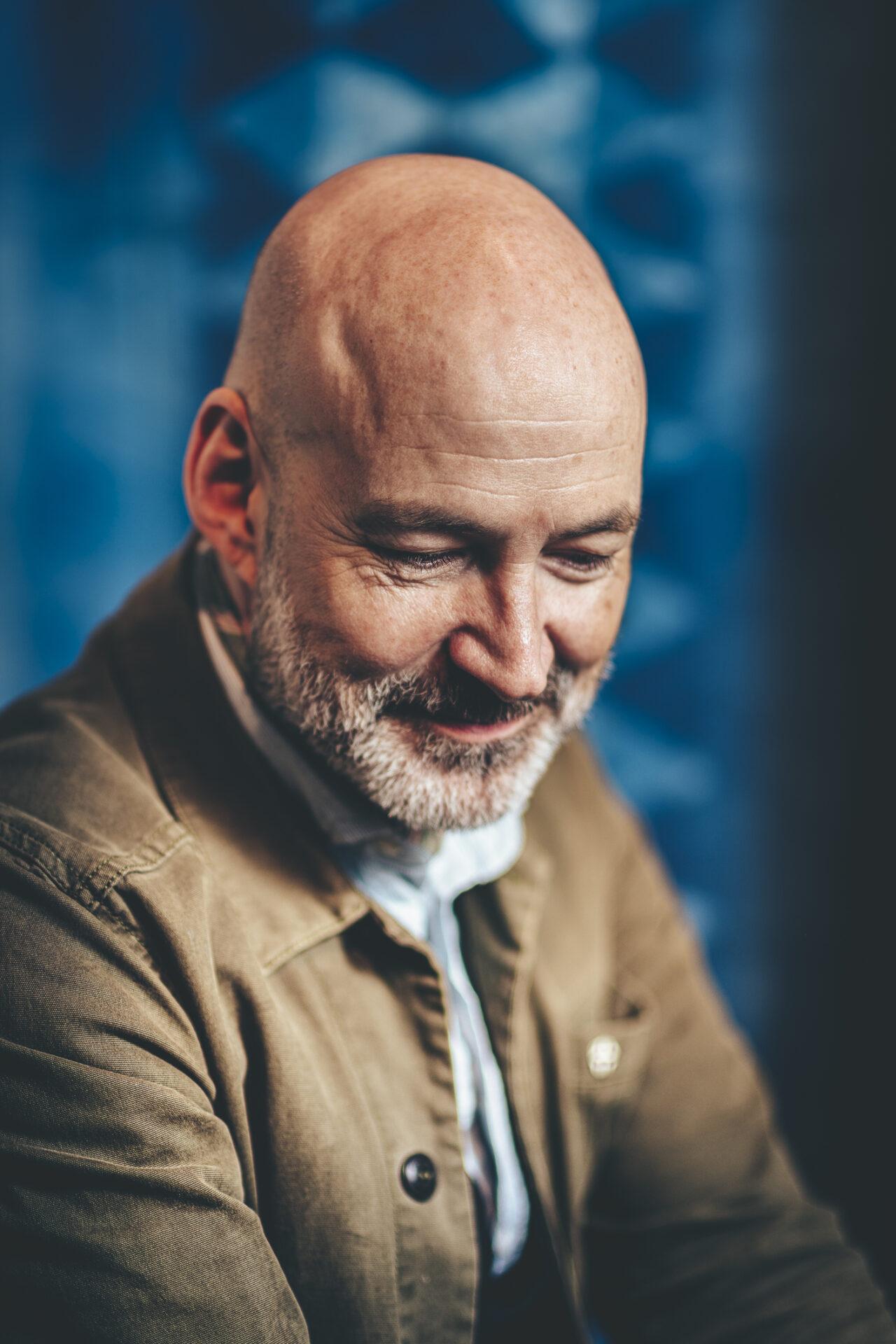 Male portrait Mads Dahlgaard