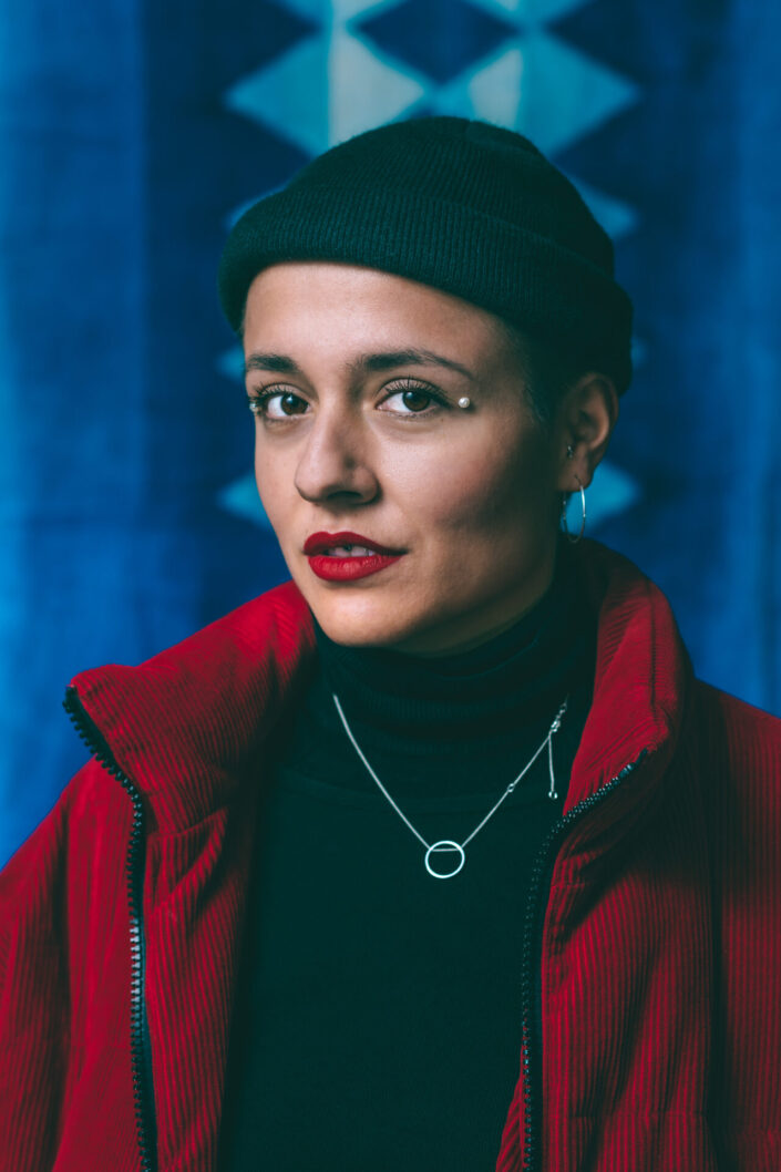 Female Portrait Bluezone Munich