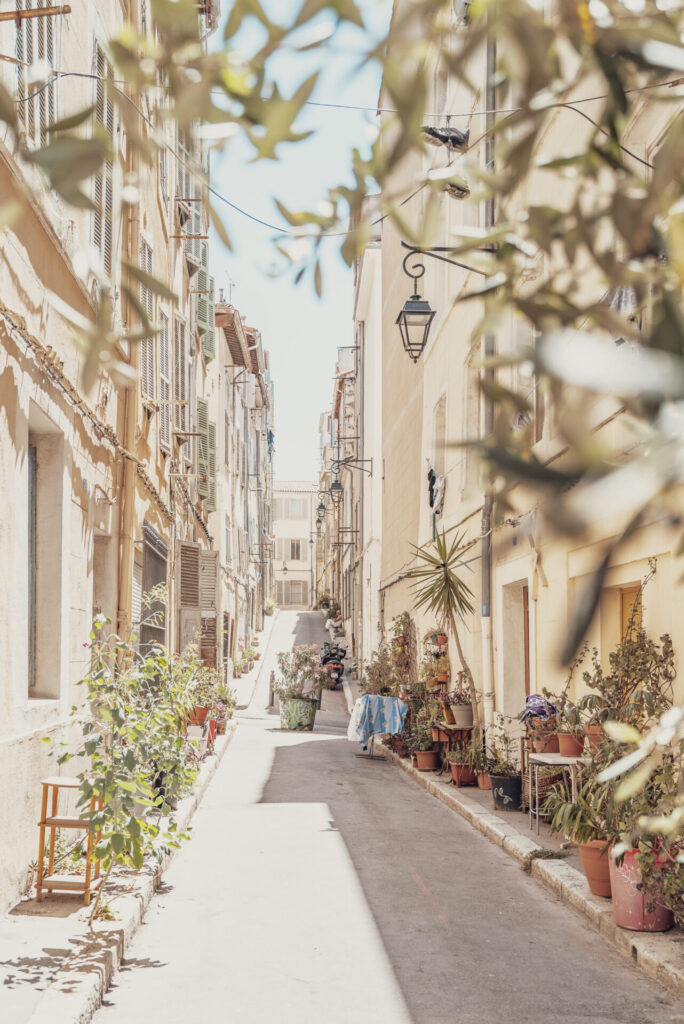 Provence at noon